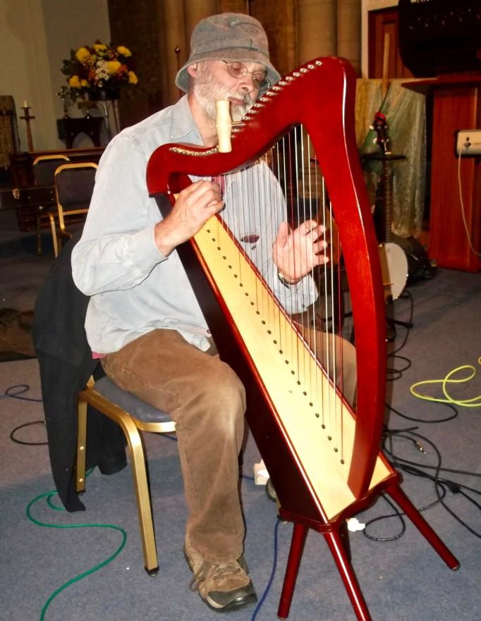 me and harp pic